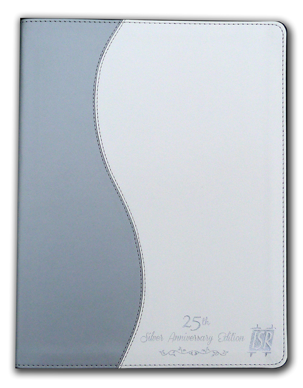 The Scriptures 25th Anniversary Large Print Edition - Flexi Cover - Silver & White
